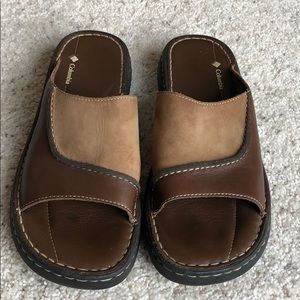 COLUMBIA Slide Sandals size 10